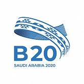 Global B20 Meeting logo