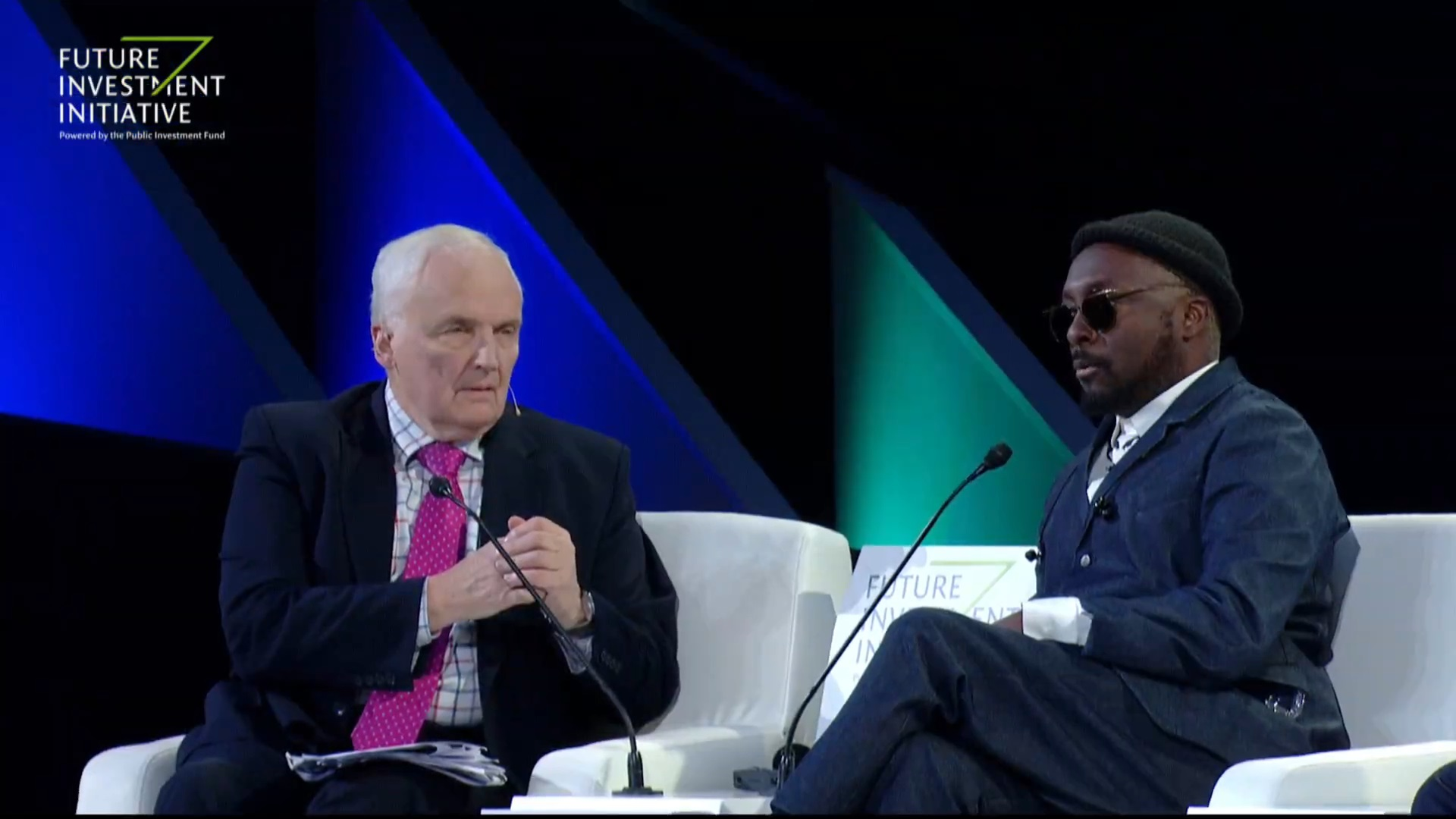 Nik engages with rap singer will-i-am on his big initiative for the young and less privileged to lesd on embracing Artificial Intelligence (AI)